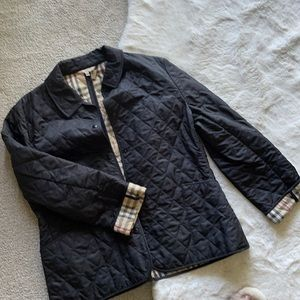 SALE Burberry quilted coat size XL